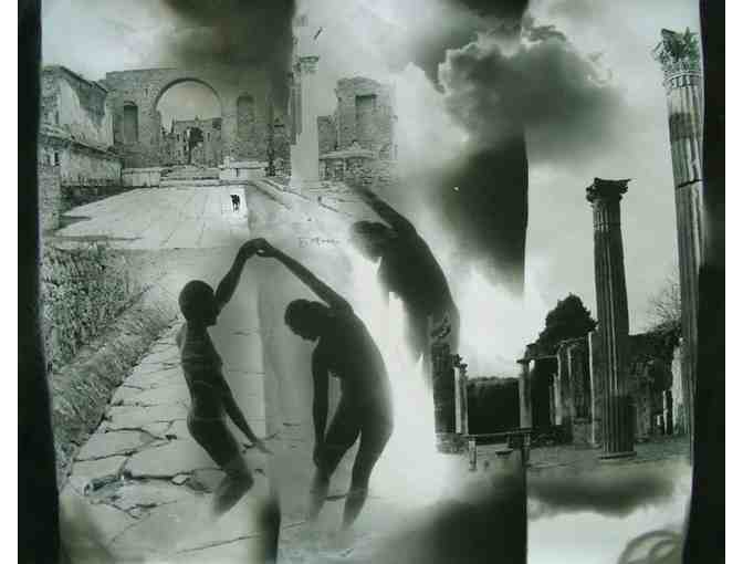 Pompei,  Italy photopaintings  one of a kind !