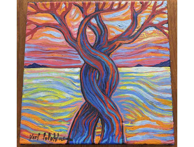 The Red Tree by Artist Neil Waldman