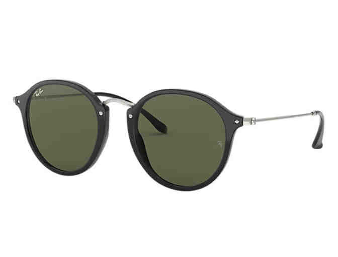 Ray-Ban Unisex Gold Round Flex Sunglasses