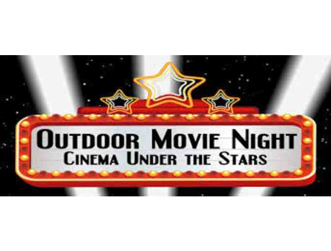 Backyard Movie Night for 10 Adults
