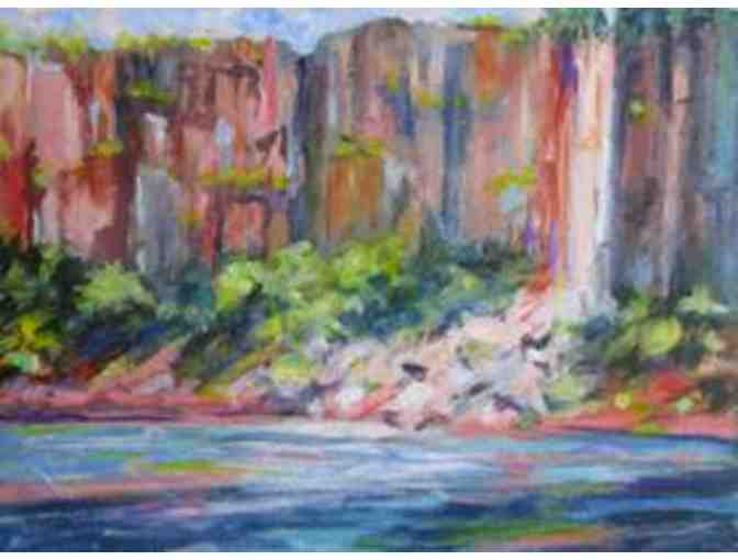 Palisades Tumble #1 by Artist Carol Perron Sommerfield