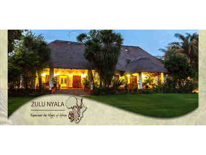 South African Photo Safari for Two at Zulu Nyala