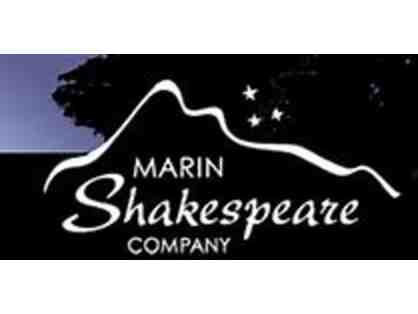 MARIN SHAKESPEARE COMPANY - 2 Tickets for 2020, Value $75