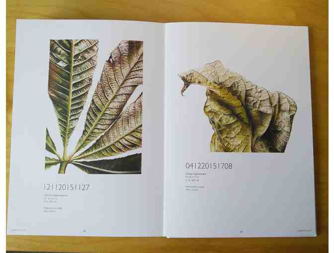 'Leafscape' - Book of Botanical Art of Jess Shepard  (Includes pack of 10 Greeting Cards
