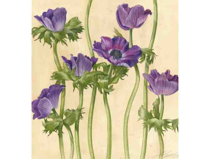 'Anemone Tea' - Original Watercolor by Billy Showell