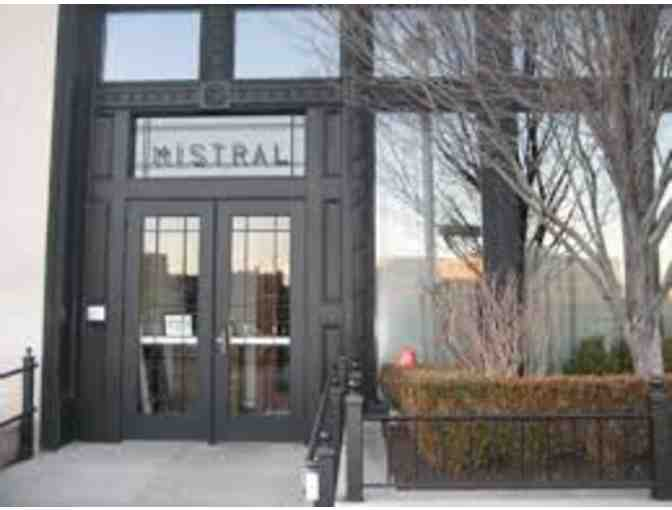 Dinner for Two at Mistral