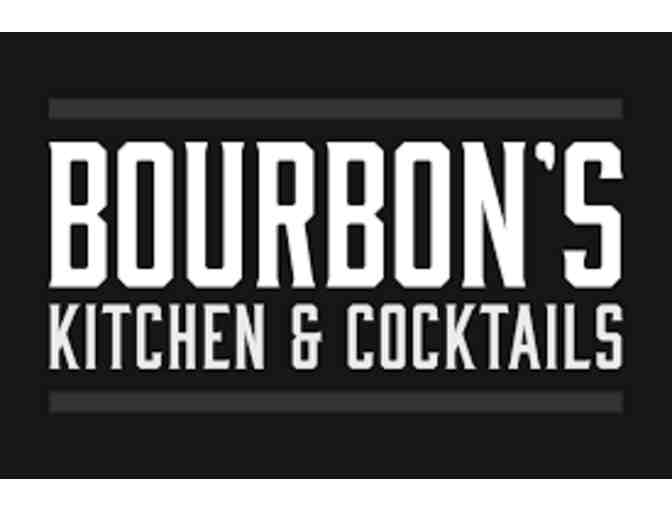 Bourbon's Kitchen & Cocktail Gift Card and Bourbon Basket