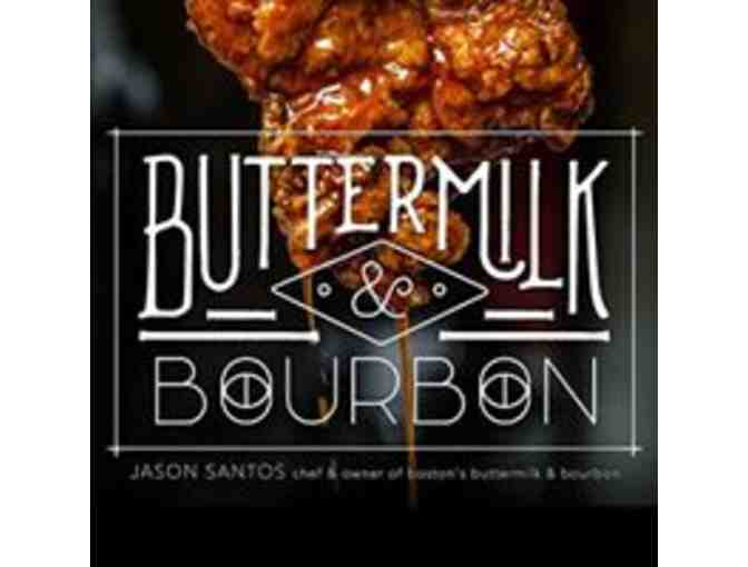 Buttermilk & Bourbon Gift Card & Autographed Jason Santos Cookbook