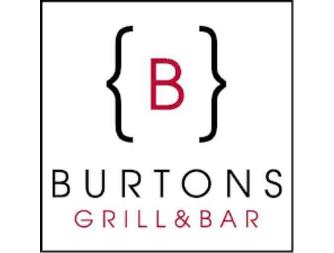 X1 Racing & Dinner at Burton's Grill & Bar