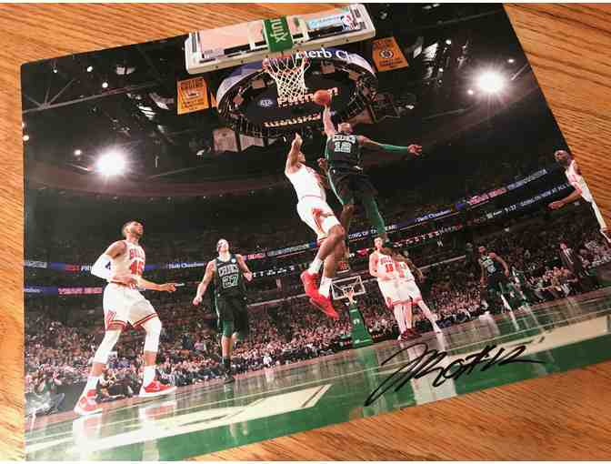 Boston Celtics Terry Rozier Signed Photo