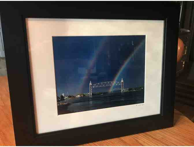 Bourne Bridge Framed Photograph by Photographer Rob Craig