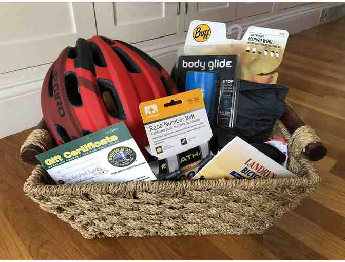 Get Out and Exercise Package - Gift Cards to Marathon Sports, Landry Cycles and more!