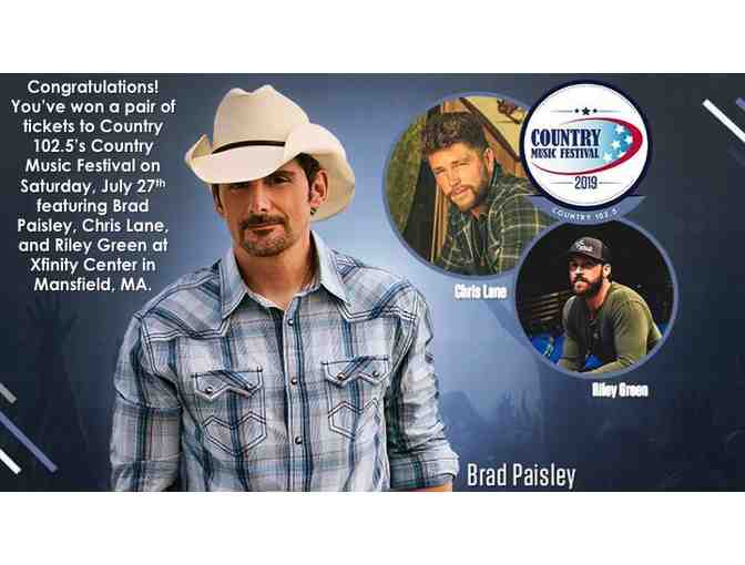 Two Tickets to Country Fest!