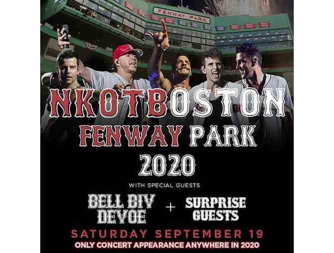 2 Tickets to NKOTB at Fenway and Autographed Greatest Hits Album