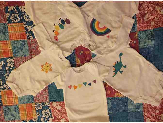 Hand Painted Onesies for the First Year