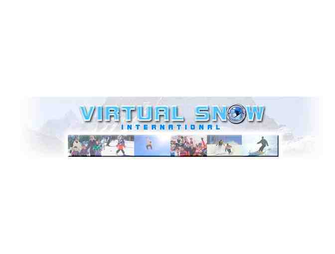 Virtual Snow Simulator - One Introduction Lesson - Gift Certificate - Photo 1