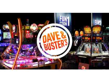 Dave & Buster's Gift Basket