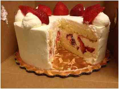 Angel Maid Bakery - Coupon for Strawberry Cake