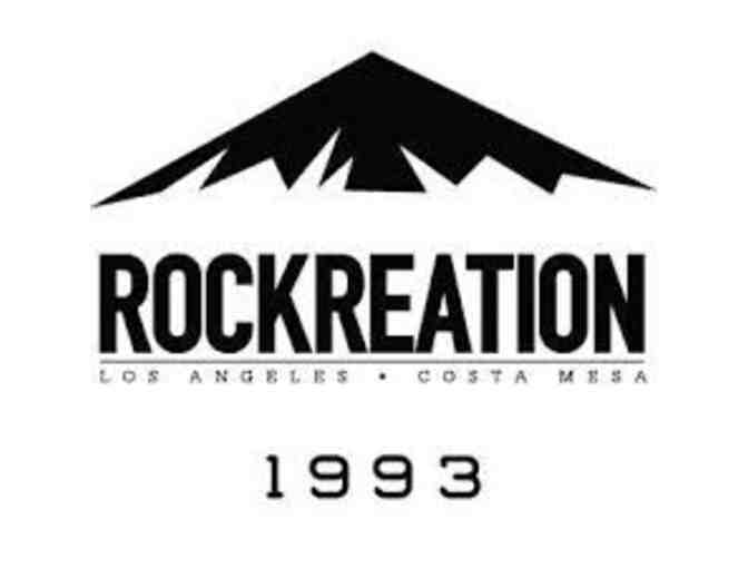 Rockreation Gift Certificate for Kid's Climb - Photo 1