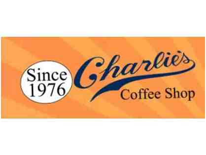 Charlie's Coffee Shop Farmers Market - Gift Certificate