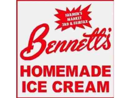 Bennett's Ice Cream SWAG