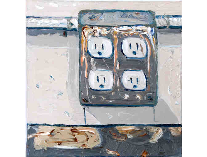 Still Life with Power Outlet (Miguel A. Saludes)