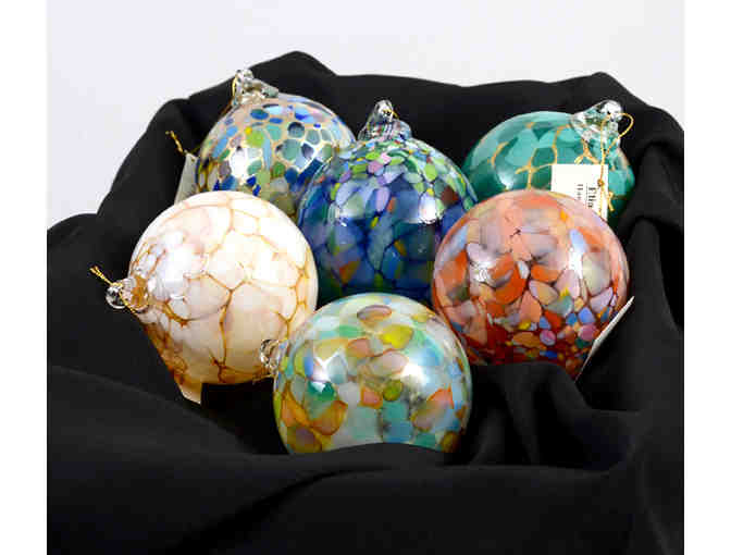 6 Mini Round Ornaments (Elias Studios) - Photo 1
