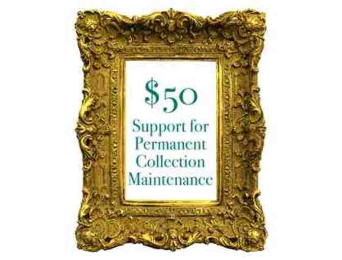 $50 Donation - Permanent Collection