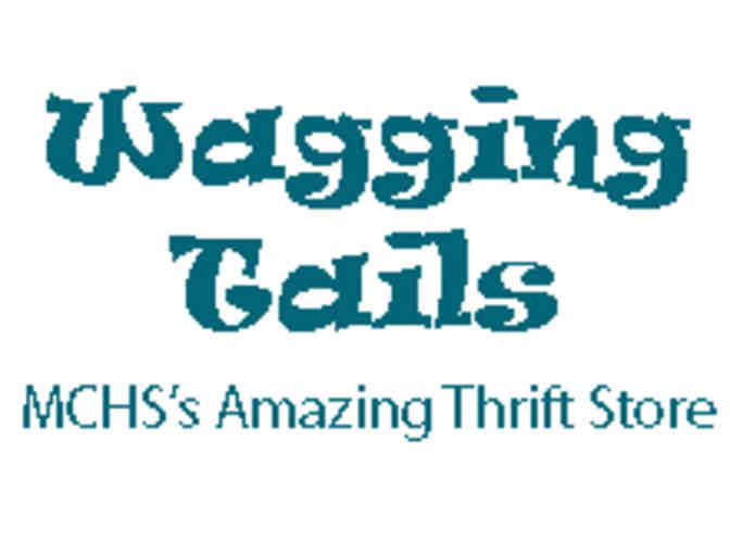 $50 Gift Certificate to Wagging Tails Thrifts & Gifts