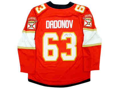 Evgenii Dadonov Autographed NHL Hockey Florida Panthers Jersey