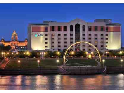 1 Night Stay at Embassy Suites by Hilton Des Moines Downtown, Iowa
