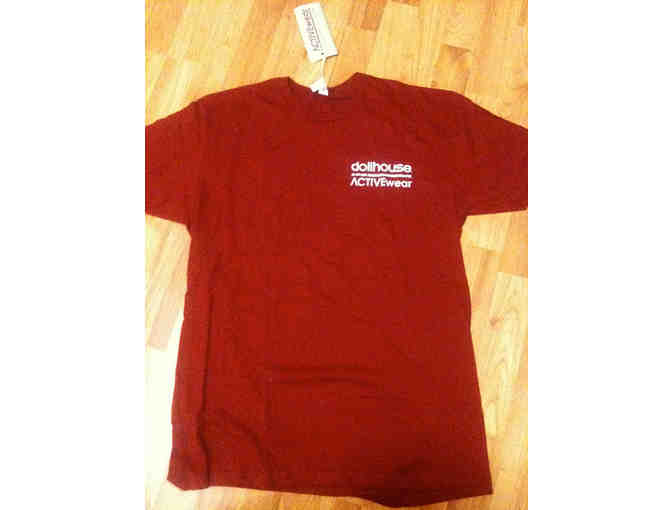 DOLLHOUSE -- Promotional Red T-Shirt (Large)