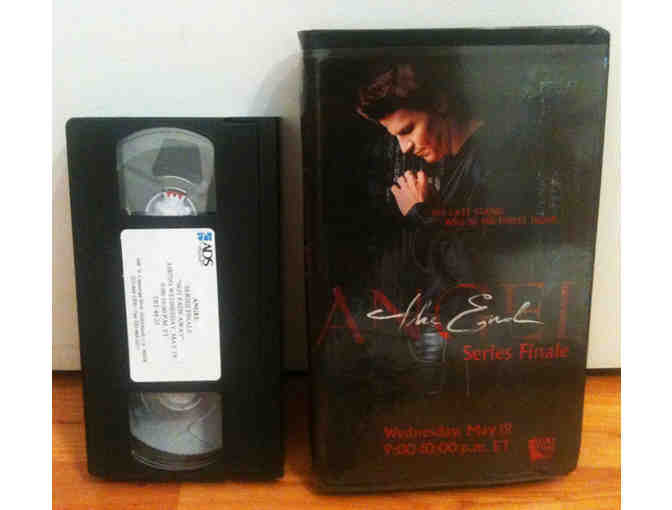 ANGEL -- Series Finale VHS (Promotional Review Copy) With Glossy Cassette Case