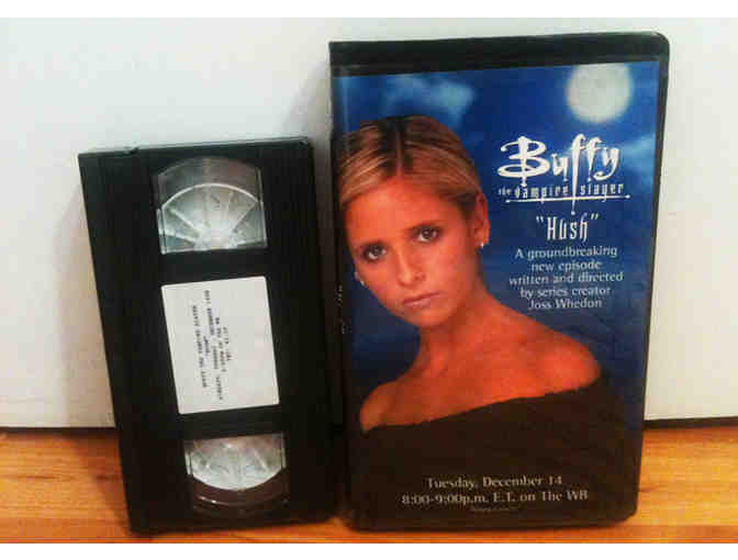 BUFFY -- Original VHS Review Copy Of 'Hush' (Emmy Nominated Episode)