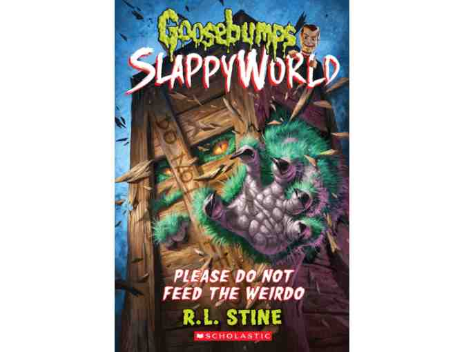 Get Scary! YOU Choose a Character in a Future Goosebumps Book