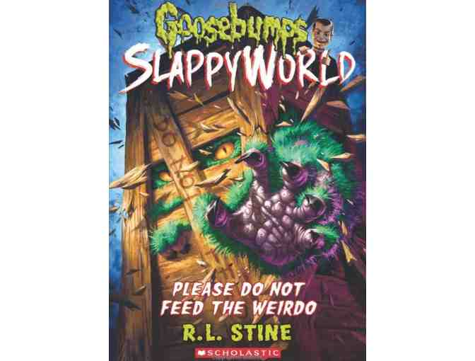 Autographed and Personalized Set of 10 Goosebumps Books by R.L. Stine