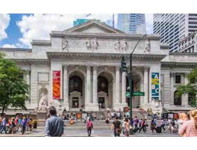 Private Tour of Manuscripts and Archives Special Collection of New York Public Library