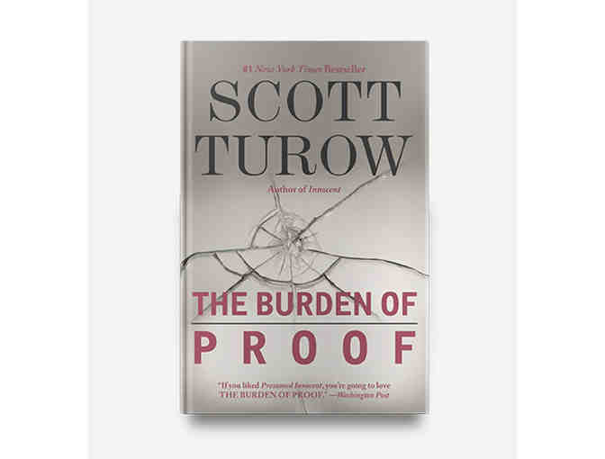 Step into Scott Turow's Writing Process with a Manuscript of Burden of Proof