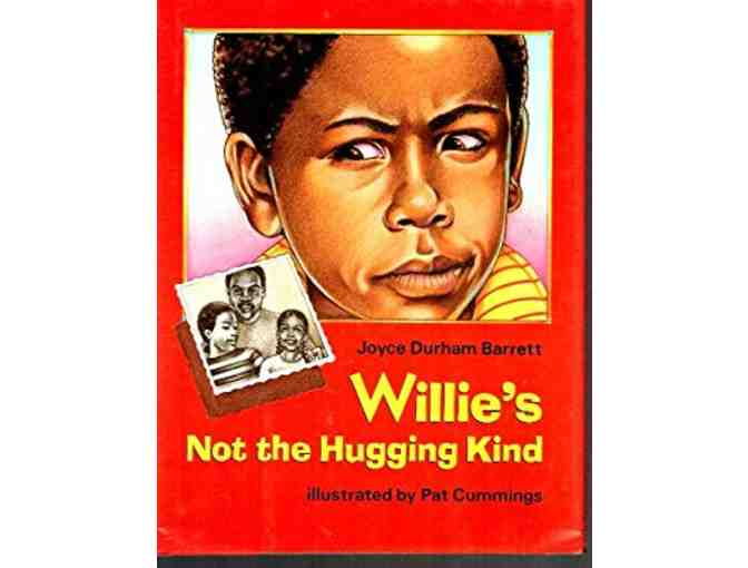 Pat Cummings: Framed Illustration from Willie's Not the Hugging Kind