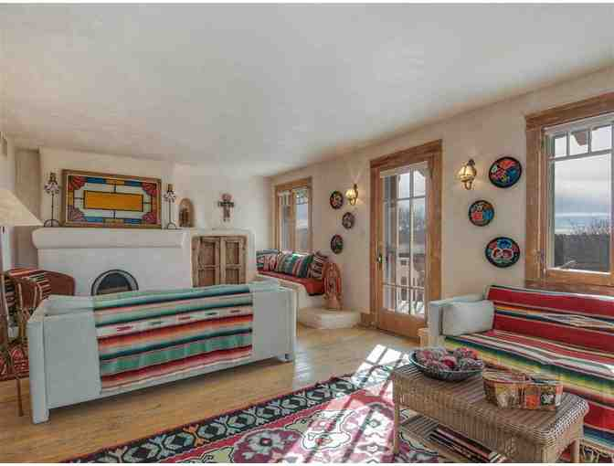 A Week-long Santa Fe Casita Vacation in Doug Preston's Vacation Home!