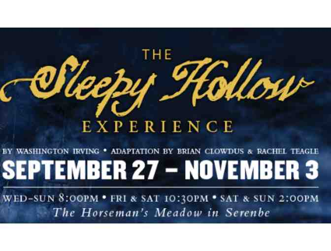 4 VIP Tickets to The Sleepy Hollow Experience at Serenbe Playhouse