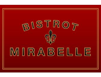 $100 Gift Card to Bistrot Mirabelle