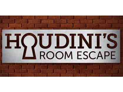 HOUDINI'S ROOM ESCAPE - TWO (2) ADMISSION TICKETS