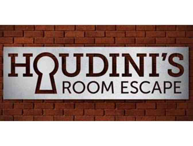 HOUDINI'S ROOM ESCAPE - TWO (2) ADMISSION TICKETS - Photo 1