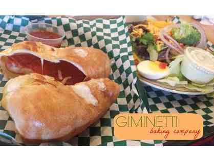 GIMINETTI BAKING COMPANY - $20 GIFT CERTIFICATE - EXPIRES DEC 31, 2019