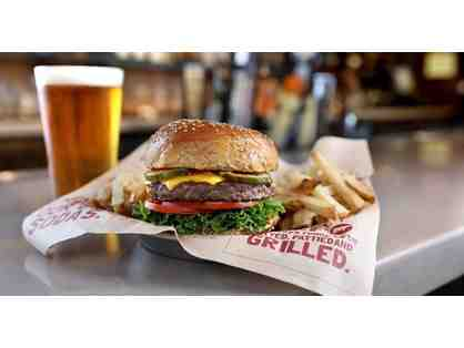 BAGGER DAVE'S BURGER TAVERN - FIVE (5) $5 GIFT CERTIFICATES - $25 TOTAL