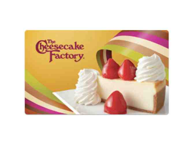 Cheesecake Factory Gift Certificate