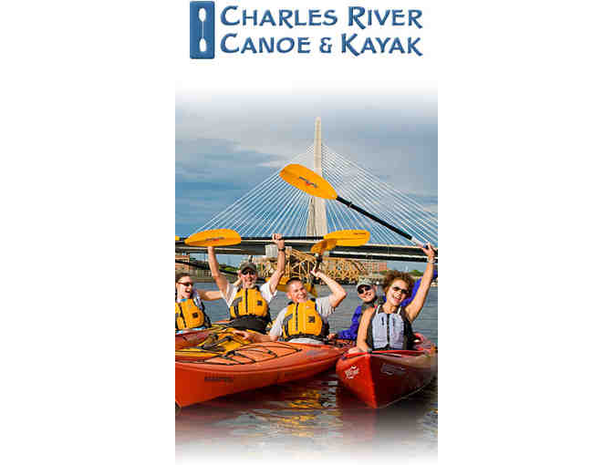 One Day of Paddling from Charles River Canoe & Kayak