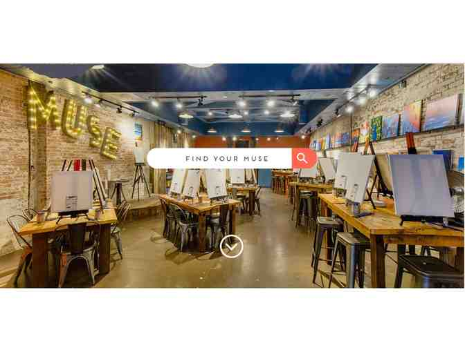 $70 Gift Certificate to Muse Paint & Winebar