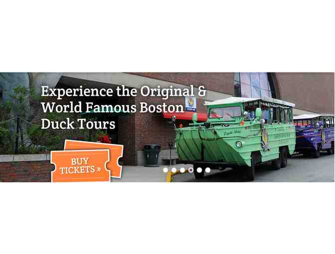 2 Tickets to Boston Duck Tours